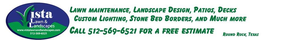 Vista Lawn and Landscapes Logo